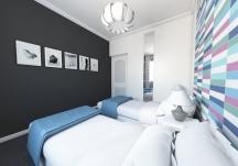 sypialnia - wizualizacja